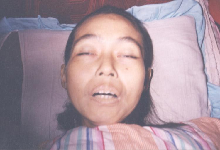 张桂琴被迫害致死照片